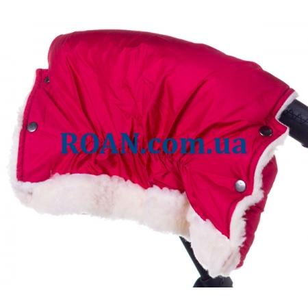 Муфта для коляски Умка (плащёвка) Красный