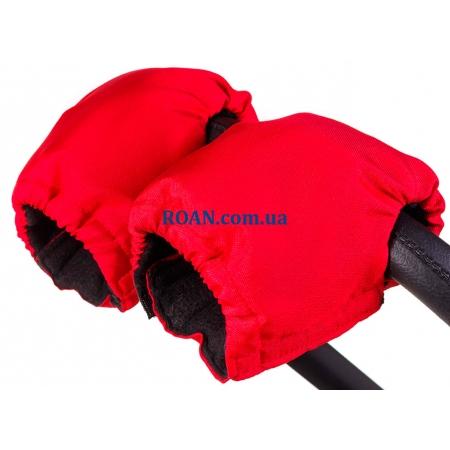 Рукавички для коляски Умка Красный