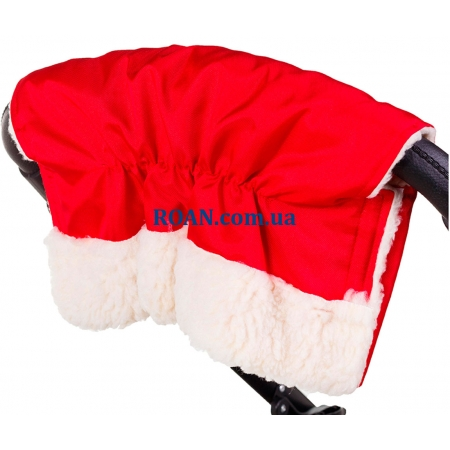 Муфта для коляски Умка Красный