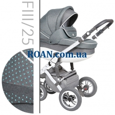 Коляска 2в1 Baby Merc Faster Style 3 FIII/25