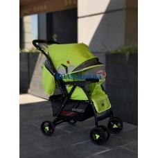 Прогулочная коляска Baciuzzi B14 green