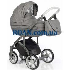 Универсальная коляска 2в1 Roan Bass Soft Basic Anthracite Grey