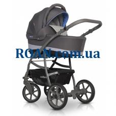 Универсальная коляска 2в1 Colibro Focus 04 blue черный-голубой