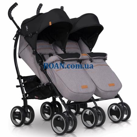 Коляска-трость EasyGo Comfort Duo 2019 grey fox