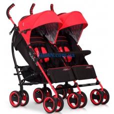 Коляска-трость EasyGo Duo Comfort Scarlet