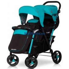 Прогулочная коляска EasyGo Fusion Duo Malachite