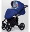 Универсальная коляска 2в1 Kunert Mila M10 black