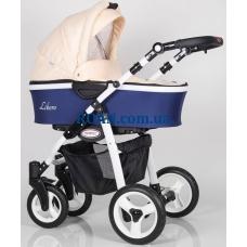 Универсальная коляска 2в1 Kunert Libero LI6 white