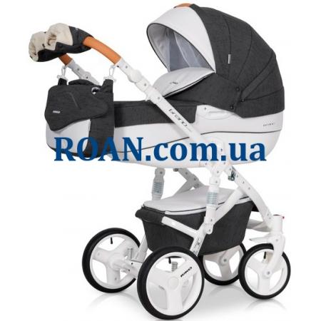 Универсальная коляска 2в1 Riko Brano Lux 06 Anthracite