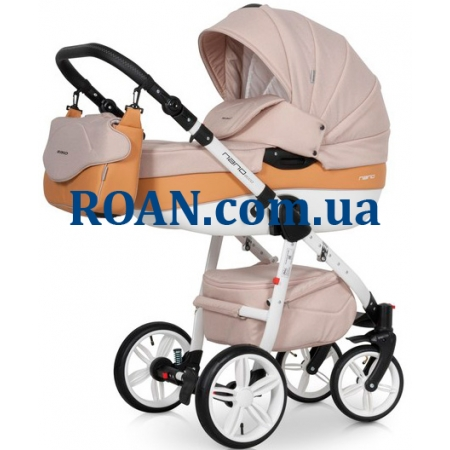 Универсальная коляска 2в1 Riko Nano Ecco 05 Caramel