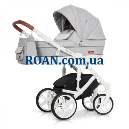 Универсальная коляска 2в1 Riko Naturo 01 grey fox