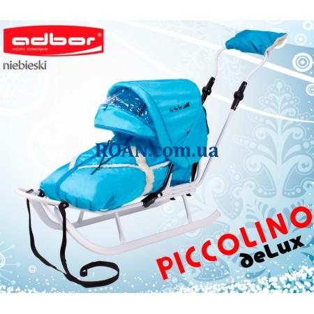 Санки Adbor Piccolino DeLux White