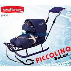 Санки Adbor Piccolino DeLux Blue