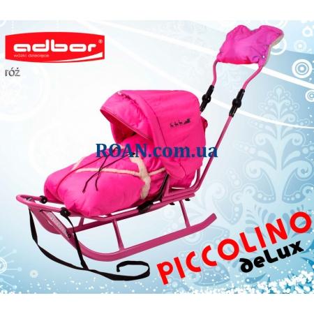 Санки Adbor Piccolino DeLux Pink