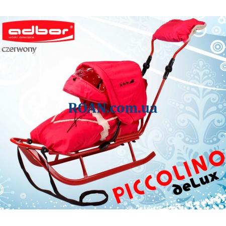 Санки Adbor Piccolino DeLux Red