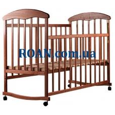 Кроватка Наталка Ольха тонированная