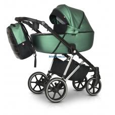 Универсальная коляска 3в1 Verdi Makan Elektro metalik green 04