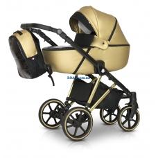 Универсальная коляска 3в1 Verdi Makan Elektro new gold (золотая рама) 10