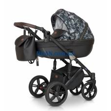 Универсальная коляска 3в1 Verdi Mocca 06 графит-аппликация