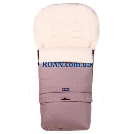 Конверт на овчине Womar №20 с удлинением Cappuccino