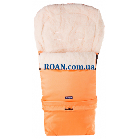 Конверт на овчине Womar №20 с удлинением Orange