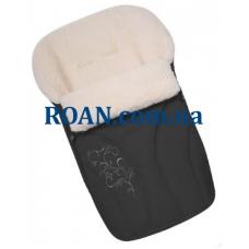 Конверт на овчине Womar №25 с вышивкой Graphite
