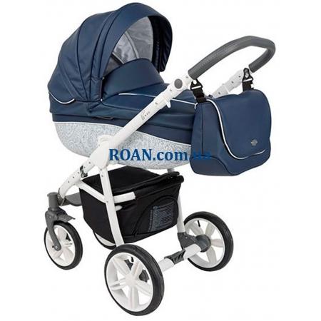 Универсальная коляска 2в1 Roan Bass Eco B2 Marine White