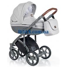 Универсальная коляска 2в1 Roan Bass Soft Basic Grey Powder