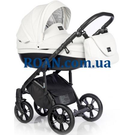 Универсальная коляска 2в1 Roan Bass Soft Eco Black Diamond