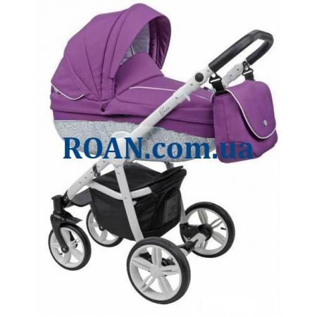 Универсальная коляска 2в1 Roan Bass B2 purple white