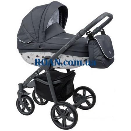 Универсальная коляска 2в1 Roan Bass B4 graphite grey