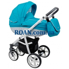 Универсальная коляска 2в1 Roan Bass B2 blue white