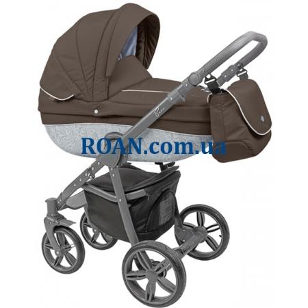 Универсальная коляска 2в1 Roan Bass B2 choco grey