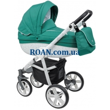 Универсальная коляска 2в1 Roan Bass B2 emerald white