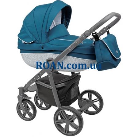 Универсальная коляска 2в1 Roan Bass B2 ocean grey