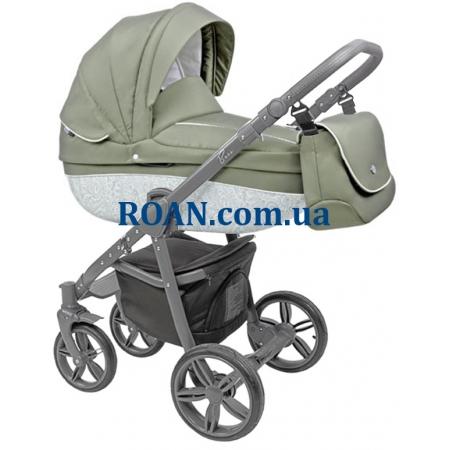 Универсальная коляска 2в1 Roan Bass B2 olive grey