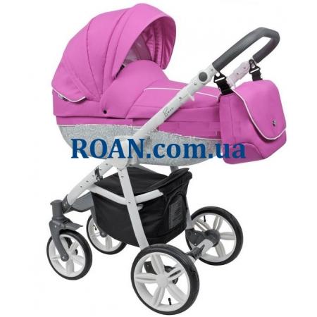Универсальная коляска 2в1 Roan Bass B2 pink white