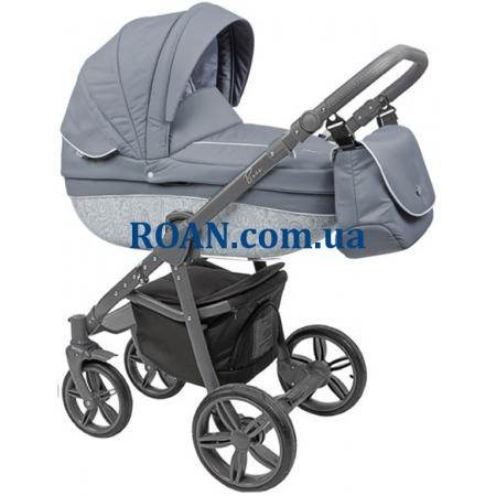Универсальная коляска 2в1 Roan Bass B2 silver grey