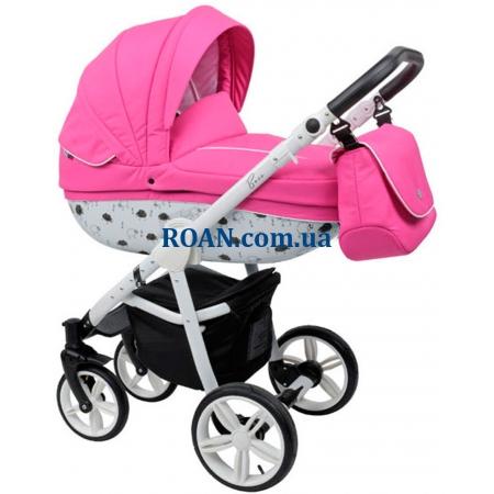 Универсальная коляска 2в1 Roan Bass B4 Pink White