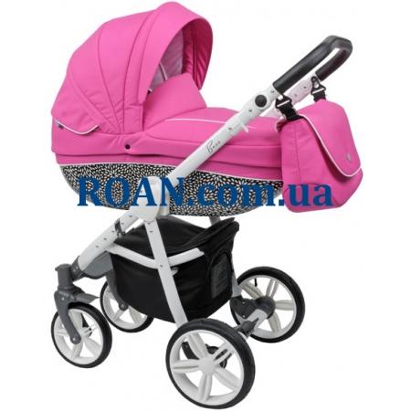 Универсальная коляска 2в1 Roan Bass B6 pink white