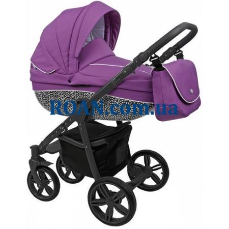 Универсальная коляска 2в1 Roan Bass B6 purple black