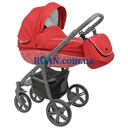 Универсальная коляска 2в1 Roan Bass B7 red grey