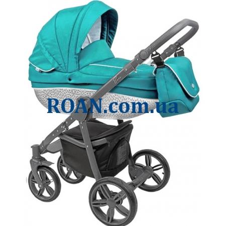 Универсальная коляска 2в1 Roan Bass B8 mint grey