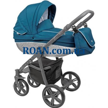 Универсальная коляска 2в1 Roan Bass B8 ocean grey