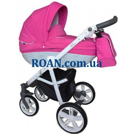 Универсальная коляска 2в1 Roan Bass B8 pink white