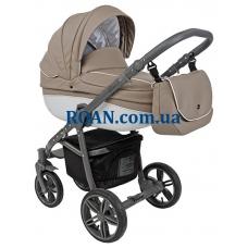 Универсальная коляска 2в1 Roan Bass Eco B1 Cappuccino Grey