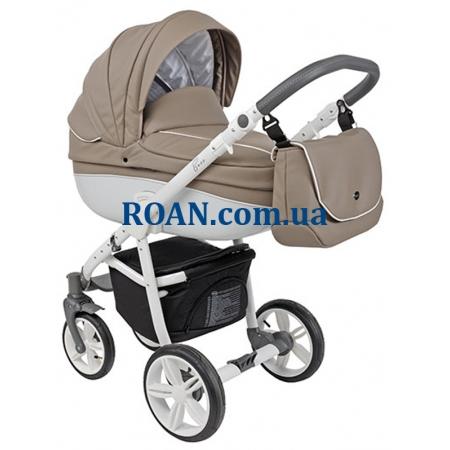 Универсальная коляска 2в1 Roan Bass Eco B1 Cappuccino White
