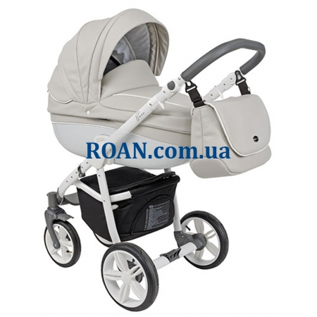 Универсальная коляска 2в1 Roan Bass Eco B1 Stone White