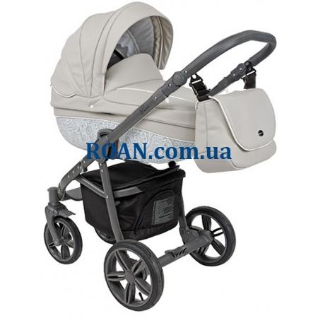Универсальная коляска 2в1 Roan Bass Eco B2 Stone Grey
