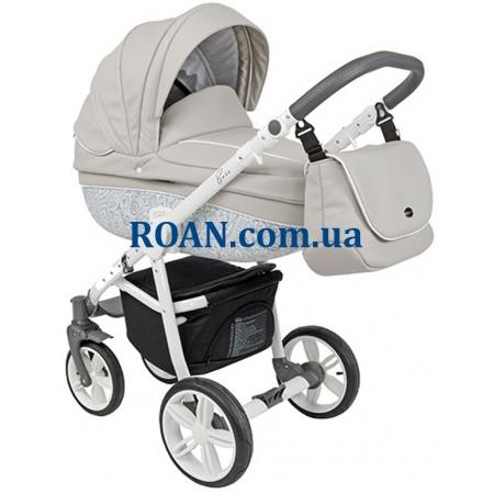 Универсальная коляска 2в1 Roan Bass Eco B2 Stone White